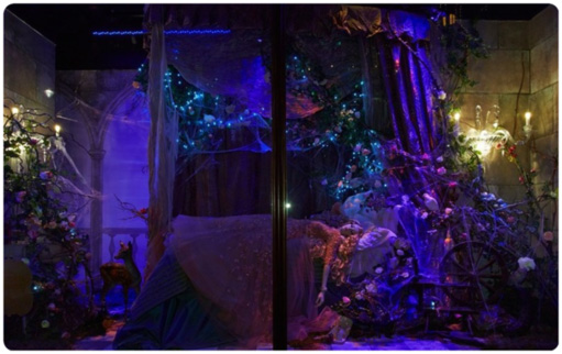 Sleeping Beauty Display at Herrods